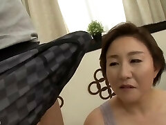 Beautiful Mom Japanese plowed