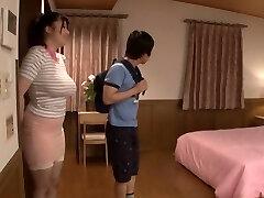 Exotic Japanese model in Horny Nipples, Threeway JAV movie