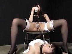 Jap urinate female dom 1