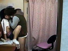 Spycam Teenie massaged by schoolcoach