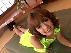 Fabulous toy porn along insolent Asian nymph Kana Aono