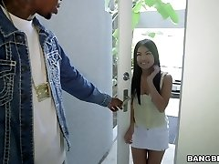 Cindy Starfall takes hefty black chisel