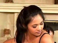 Asian girl in Latex