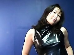 Asian mature breezy getting real randy on her own