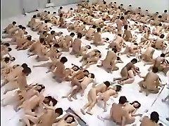 Big Group Hook-up Orgy