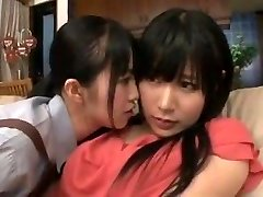 maid mummy daughter-in-law in lesbian action