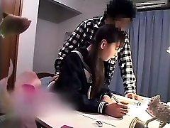 Alluring Oriental babe has her boyfriend poking her taut