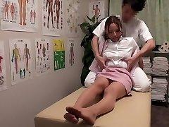 Chisato Ayukawa, Nao Aijima in OL Pro Rubdown Clinic 15 part 1