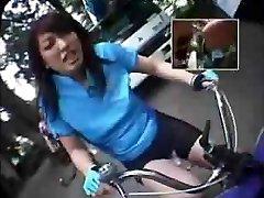 Riding Fuck Stick-Bikes In Public