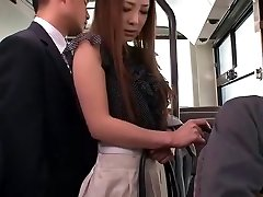 Crazy Japanese girl Minori Hatsune in Epic Outdoor, Upskirts/Panchira JAV vid