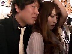 Crazy Asian chick Kokomi Sakura in Hottest Fingering, Public JAV clip