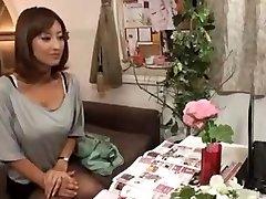 excitat soția japoneză masat și apoi a tras-o