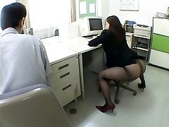 Japanese office lady drives me ultra-kinky by airliner1