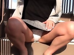 Chinese teenager filmed upskirt