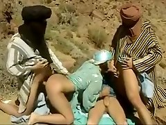 Stunning homemade Arab, Gangbang adult video
