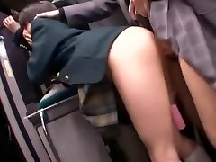 Best Japanese bi-atch Natsu Aoi, Yuu Shinoda, Hikaru Yuki in Incredible Getting Off, Lesbian JAV clip
