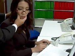 Subtitles - Boss nailed her chinese secretary Ibuki