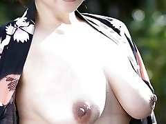 50s Asian with Awesome Inborn Tits