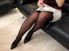 asian wifey in stocking 6-1