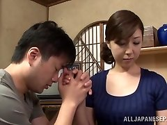 Steamy mature Asian housewife loves getting position 69