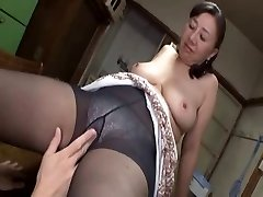 Asian mature sweetie steaming sex with a horny youthful boy