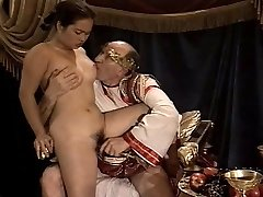 Asian Youthfull Girl Casting made by Older & Fat Granddad