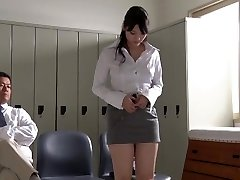 JAV star Rei Mizuna professor striptease Subtitles