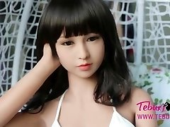 I�m addicted to this Chinese japanese brown-haired sex doll