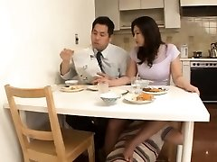 Japanese Step Mother with No Panty