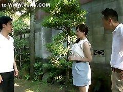 Exotic Japanese chick in Astounding Wife, MILF JAV video