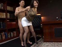 Japanese Office Slut Fucked Rigid