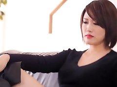 Wonderful Japanese chick in Incredible HD, Latex JAV movie