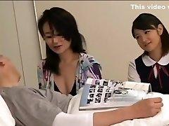 School lady japan in hospital
