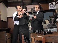 Kinky housewife, Aoi Wajo is playing harsh sex games