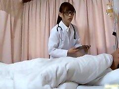 Supah sexy Japanese nurses sucking