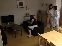 Cougar gets romped while her friend tapes it