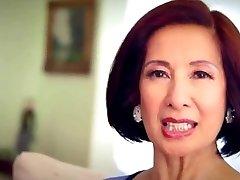 64 year elderly Milf Kim Anh talks about Anal Sex