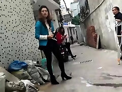 Chinese woman selling sex