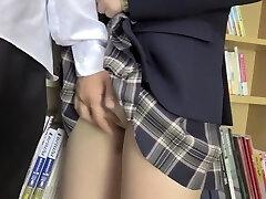 Incredible Japanese model in Fabulous HD, Upskirt JAV flick