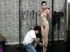 Elegent chinese nude model Anke in Domination & Submission