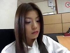 korean office girl