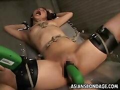 Japanese bondage romping machine