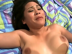 Having his ample dick in her facehole is what turns her on