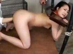 japanese slave trained at the farm
