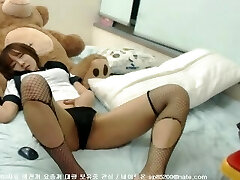 Shy Korean Webcam Demonstrate