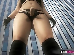 Colossal Domme - Asian Giantess