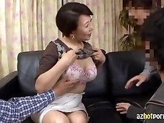 AzHotporn.com - Chas Ozawa Neitsyt MILF Metsästys