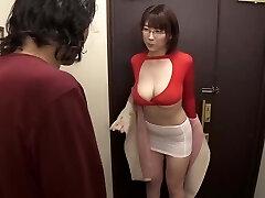 Big knockers wearing glasses Matsumoto Nanami