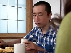 Japanese Granny enjoys to fuck