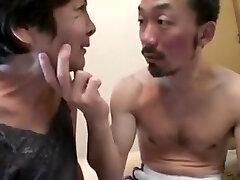 Seducing a Japanese Grannie - censored